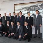 原田憲治議員(後列右から3人目)