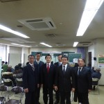 今村雅弘議員(左から3人目)