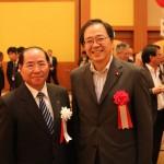 斉藤鉄夫公明党税調会長を囲んで