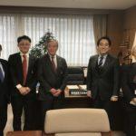 経済産業省で平木大臣政務官を囲んで