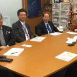 片山議員と事業承継税制で意見交換